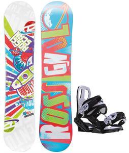 Rossignol Scan Amptek Smalls Snowboard w/ Sapient Zeus Jr Bindings