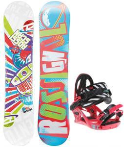 Rossignol Scan Amptek Snowboard w/ K2 Kat Bindings