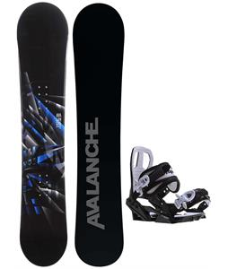 Avalanche Source Snowboard w/ Sapient Zeus Jr Bindings