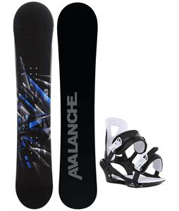 Avalanche Source Snowboard w/ Chamonix Savoy Bindings