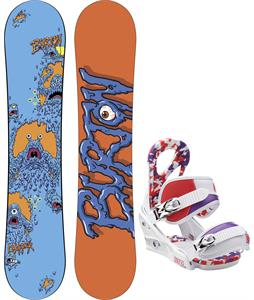 Burton Chopper Snowboard w/ Burton Stiletto Smalls Bindings