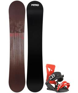 Nitro SFU Wide Snowboard w/ Zero Bindings