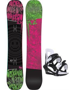 K2 WWW Rocker Snowboard w/ Chamonix Savoy Bindings