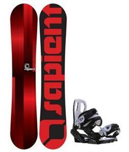 Sapient Fader Snowboard w/ Sapient Zeus Jr Bindings