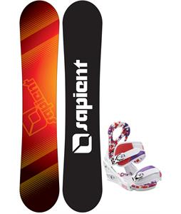 Sapient Zeus Jr Snowboard w/ Burton Stiletto Smalls Bindings