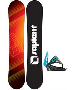 Sapient Zeus Jr Snowboard w/ K2 Mini Turbo Bindings