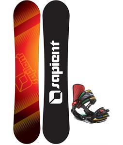 Sapient Zeus Jr Snowboard w/ Rossignol Rookie Bindings