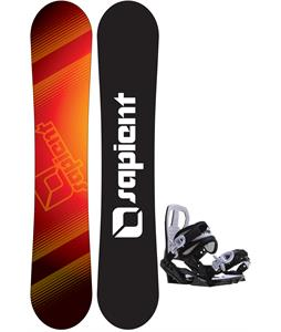 Sapient Zeus Jr Snowboard w/ Sapient Zeus Jr Bindings