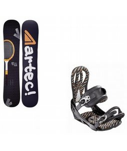 Artec Phenom Wide Snowboard w/ Matrix Bindings