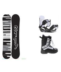 2117 Of Sweden Fader Snowboard w/  2117 Holmesta Boots & 2117 Storm Bindings