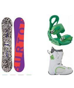 Burton Blender Snowboard w/ Bootique Boots & Stiletto EST Bindings