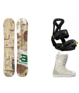 Burton Blunt Snowboard w/  Westford Boots & Custom Bindings