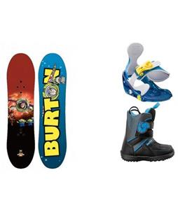 Burton Chopper Toy Story Snowboard w/ Grom Boots & Grom Bindings
