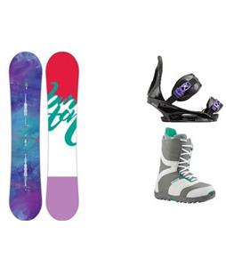 Burton Feather Snowboard w/ Coco Boots & Citizen Re:Flex Bindings