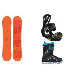 Burton Super Hero Smalls w/ Zipline Boots & Mission Bindings