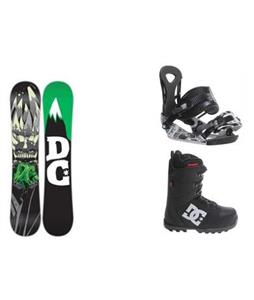 DC Force Snowboard w/  DC Phase Boots & Ride LX Bindings