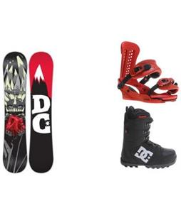 DC Force Wide Snowboard w/  DC Phase Boots & Union Force Bindings