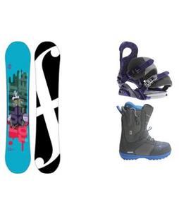 Forum Spinster Snowboard w/  Forum Mist Boots & Forum Journal Bindings