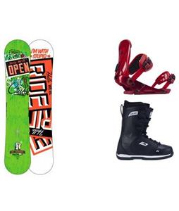 Ride Crush Wide Snowboard w/ Orion Boots & Revolt Bindings