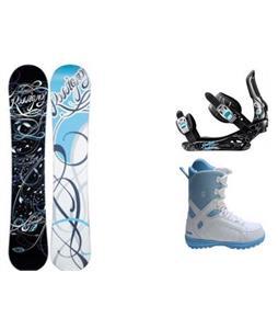 Rossignol Gala Amptek Snowboard w/  Forum Bebop Boots & Rossignol Gala Bindings