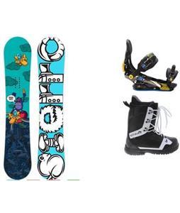 Sierra Stunt Snowboard w/  Arctic Edge 1080 Boots & Rome S90 Bindings