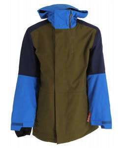 Bonfire Blur Snowboard Jacket Herbe