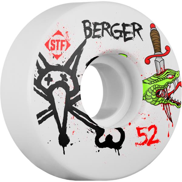 Bones Berger STF Snake Skateboard Wheels