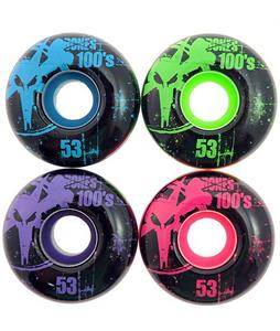 Bones 100's OG Skateboard Wheels Assorted 53mm