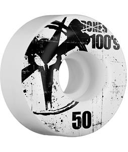 Bones 100's OG Skateboard Wheels Natural 50mm