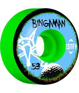 Bones Bingaman STF Bogey Skateboard Wheels