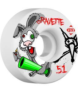 Bones Gravette STF Bonkers Skateboard Wheels