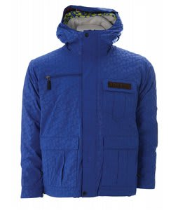 Bonfire Exchange Snowboard Jacket Sapphire