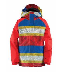 Bonfire All Star Snowboard Jacket Golden Bark Print