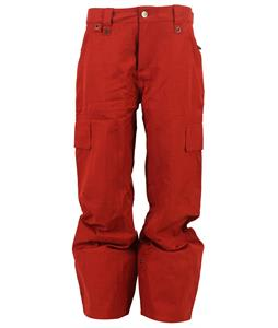 Bonfire Arc Snowboard Pants Redrum