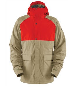 Bonfire Aspect Snowboard Jacket Canvas/Burnt