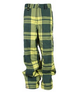 Bonfire Baker Snowboard Pants Sapphire