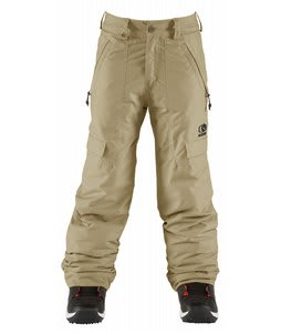 Bonfire Burly Snowboard Pants Canvas