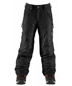 Bonfire Burly Snowboard Pants True Black