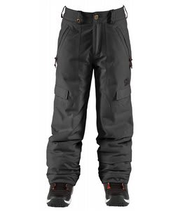 Bonfire Cargo Snowboard Pants Black