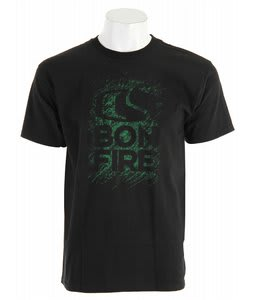 Bonfire Chalk T-Shirt Black