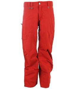 Bonfire Davis Snowboard Pants Torch