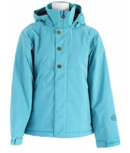 Bonfire Echo Snowboard Jacket Aquamarine