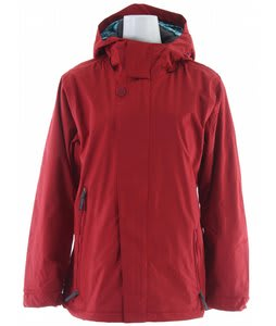 Bonfire Endless Snowboard Jacket Crimson