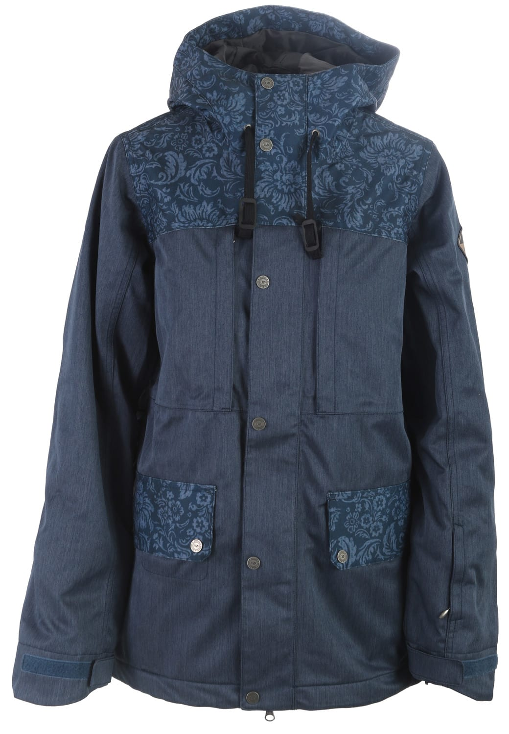 On Sale Bonfire Essence Print Snowboard Jacket Womens Up