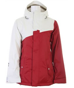 Bonfire Glacier Snowboard Jacket Crimson/Silk