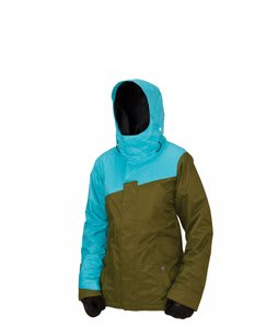 Bonfire Glacier Snowboard Jacket Herbe/Glass