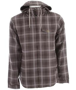 Bonfire Hoody Flannel Iron/Black/Steel