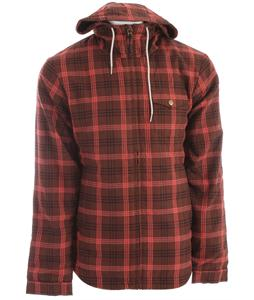 Bonfire Hoody Flannel Leather/Burnt/Marine