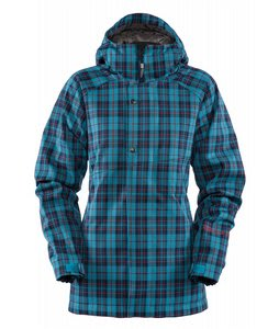 Bonfire Heavenly Snowboard Jacket Marine/Storm/Saffron