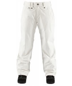 Bonfire Particle Snowboard Pants White